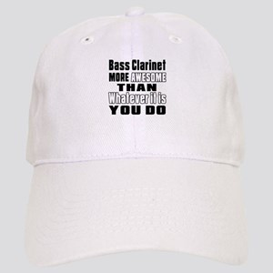 Bass Clarinet More Awesome Cap