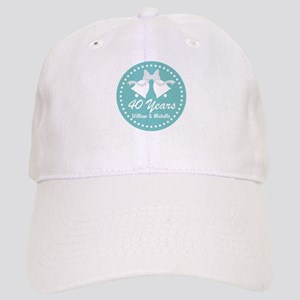 40th Anniversary Personalized Gift Baseball Cap