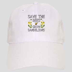Save The Bees Grow Dandelions Baseball Cap