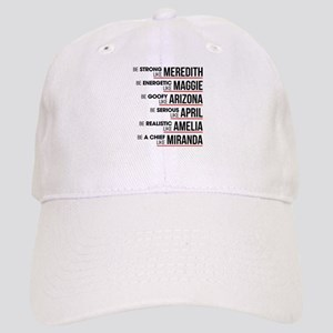 Be Strong Like Meredith Cap