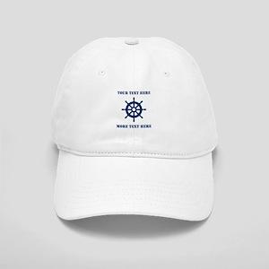 Custom Boat Captain Hat | Nautical Baseball Cap