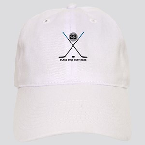 Ice Hockey Personalized Cap