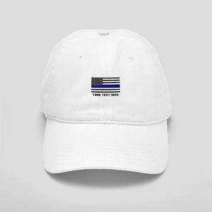 Thin Blue Line Flag Cap