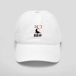I Heart BBW Baseball Cap