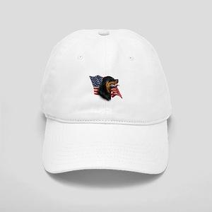 Rottweiler Flag Cap