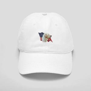 Yellow Lab Flag Cap