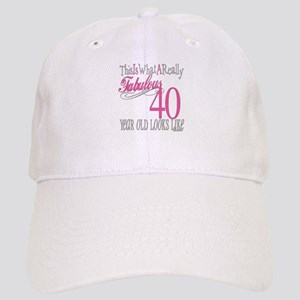 40th Birthday Gifts Cap
