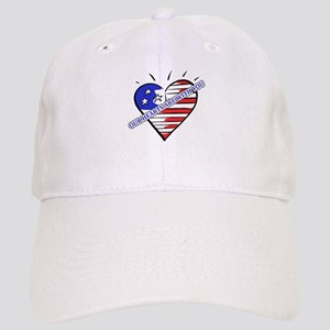 Valentine's for Military Cap