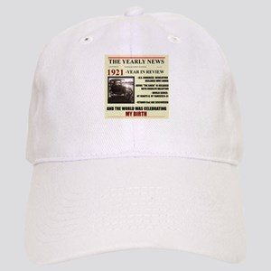 born in 1921 birthday gift Cap
