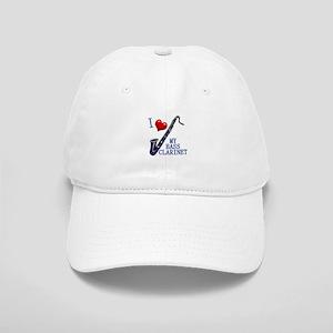 I Love My BASS CLARINET Cap