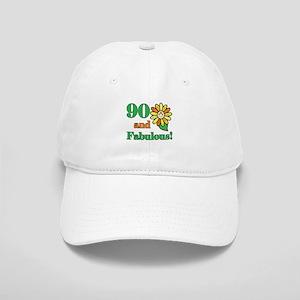 Fabulous 90th Birthday Cap