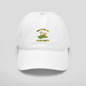 Golfing Humor For 75th Birthday Cap