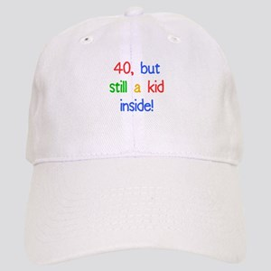 Fun 40th Birthday Humor Cap
