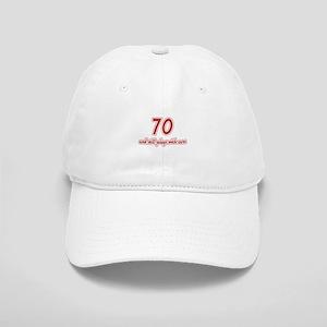 Car Lover 70th Birthday Cap