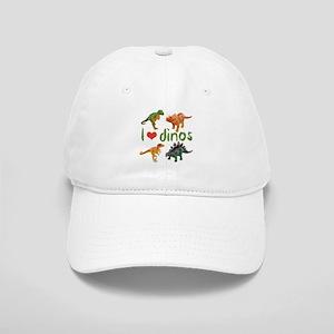 I Love Dinos Cap