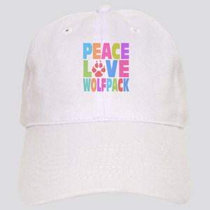 Peace Love Wolf Pack Cap
