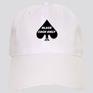 Black Cock Only Spade Cap