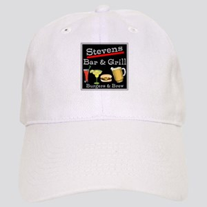 Personalized Bar and Grill Cap