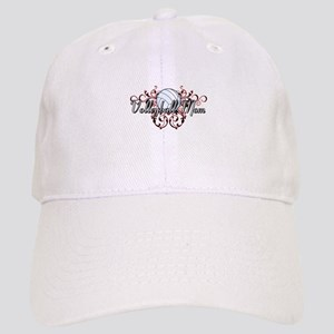 Volleyball Mom (tribal) Cap