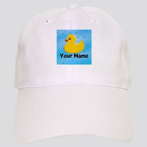 Personalized Rubber Ducky Cap