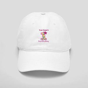 1st Birthday Splat - Personalized Cap