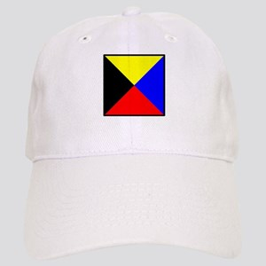 Nautical Flag Code Zulu Baseball Cap