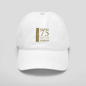 Fancy Vintage 75th Birthday Cap