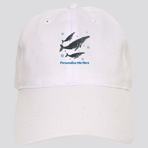 Personalized Humpback Whale Cap