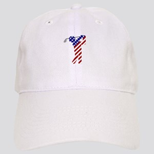 USA Mens Golf Baseball Cap