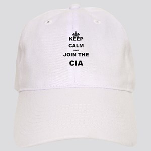 KEEP CALM AND JOIN THE CIA Baseball Cap