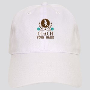 Ice Hockey Coach Personalized Cap