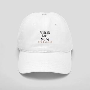 African Grey Mom Baseball Cap