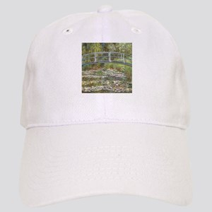 Monet Bridge over Water Lilies Baseball Cap