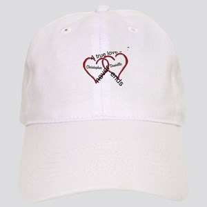 A true love story: personalize Baseball Cap