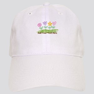 Custom Cute Flowers Baseball Cap