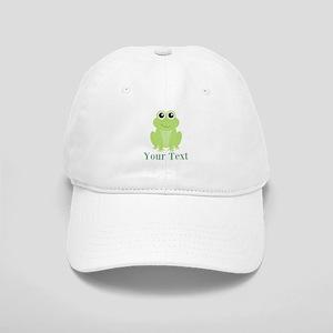 Personalizable Green Frog Baseball Cap