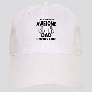 Awesome Dad Looks Like Baseball Cap