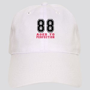 88 Aged To Perfection Birthday Designs Cap