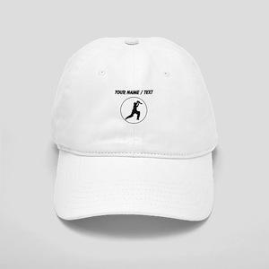 Custom Cricket Player Circle Baseball Cap