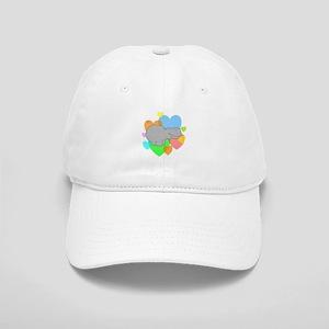 Hippo Hearts Cap