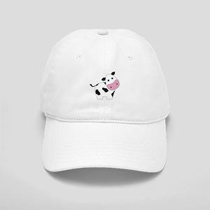 Cute Black and White Cow Baseball Cap