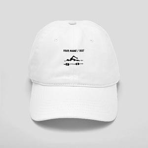 Custom Swimmer Baseball Cap