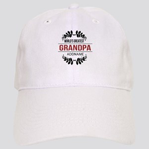 Custom Worlds Greatest Grandpa Cap