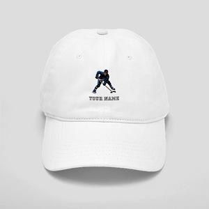 Hockey Player (Custom) Baseball Cap