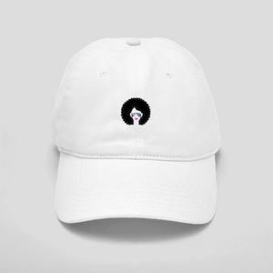 hologram afro girl Cap