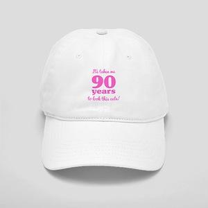 Cute 90th Birthday For Women Cap