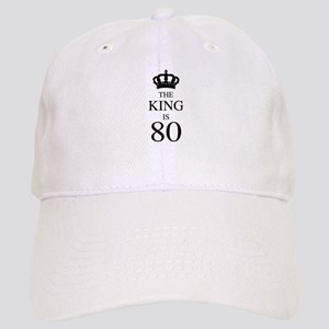 The King Is 80 Cap
