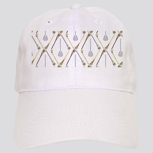 Five Lacrosse Sticks Cap