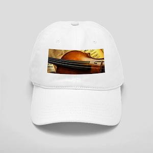 Violin On Music Sheet Cap
