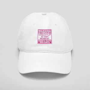 Warning Gymnast Flip Cap